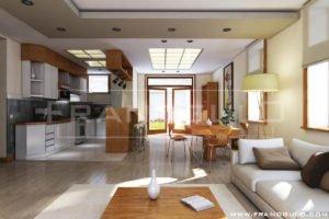Минимализм в интерьере дома