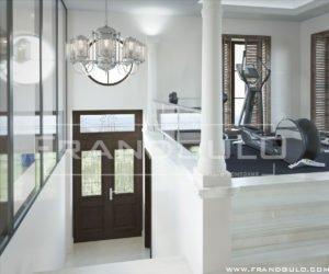 Проект дома в классическом стиле