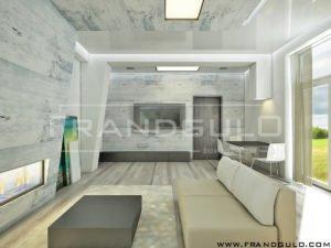 Проект интерьера дома