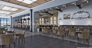 Проект ресторана в аэропорту