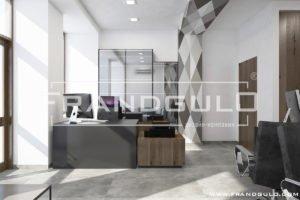 Проект офисного помещения