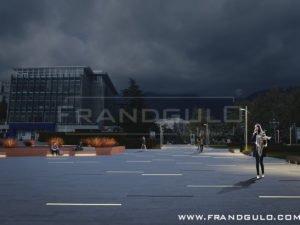 Проектные предложения для городской площади