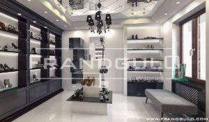 Роскошный интерьер магазина