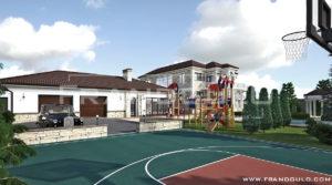 Изысканный дом для большой семьи