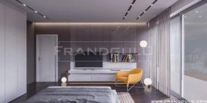 Интерьер современных апартаментов